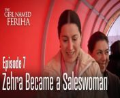 The Girl Named Feriha - Episode 7 Summary:<br/>Zehra goes immediately at home, leaving the money for that working day at Hande's. She scolds Feriha then beats her, but stop beating her daughter because Mehmet comes home. Zehra also tells Riza what she saw on Hande's laptop, and they begin to wonder what is their daughter doing at the university? Feriha continues her life and her lies to Emir. Cansu has the chance to see them and tells her mother. Hande gives Koray some money to buy another CD when he realizes that somebody stole that precious CD form his house. Feriha and Emir start dating publicly and walk hand in hand, to be seen by their enemies. Hande goes mad when she sees them like that. Zehra witnesses an argument between Cansu and her mother Sanem on the piece of paper with Emir's name on it. later Zehra tires to calm Cansu down, but doesn't tell her that the note was left in her room by mistake. Mehmet finds working as an ocasional porter. He is very tired after the first day, but the next day he is not chosen to go to work so he leaves and starts looking for a permanent job at some car mechanics. One evening Mehmet defends Lara from two tramps, and then he shows her he was not armed, but he only pretended to be.<br/><br/>Hande follows Feriha after school and she discovers that Feriha is a waiter in Mrs. Sanem's restaurant. Then, Hande thinks of another game to play upon Feriha, and invites her friends at that restaurant on her birthday. That night Feriha is astonished seeing them at a table and can't utter a single word in front of them. In the meantime, Sanem and Haldun (Cansu's father) enter the restaurant and go to their table (they have an anniversary of their wedding). Riza has a job as a taxidriver but only during the night, job given by his neighbour, Veisel, who is a very materialistic person. Because he is old, some scoundrels try to profit and not to pay the taxi, so Riza gets stabbed and is taken to the hospital.<br/><br/>Actors: <br/>Vahide Gör