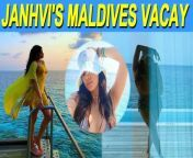 Actress Janhvi Kapoor is currently holidaying in Maldives. The 'Dhadak' actress on Thursday took to Instagram and shared a series of pictures from her vacation.<br/><br/>#JanhviKapoor #JanhviKapoorhotpic#Dostana2#GoodLuckJerry#maldivesvacation<br/>